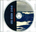 USS Essex CVS 9 1961 - 1962 Cruise Book on CD