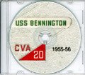 USS Bennington CV 20 1955-56 Med Cruise Book CD