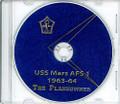 USS Mars AFS 1 1963 - 1964 Westpac Cruise Book CD