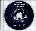 USS Ponchatoula AO 148 1966 - 1967 Westpac Cruise Book CD