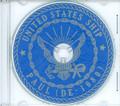 USS Paul DE 1080 Commissioning Program on CD 1971 Plank Owner