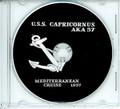 USS Capricornus AKA 57 1957 CRUISE BOOK CD