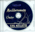 USS Mellette APA 156 1953-54 CRUISE BOOK CD
