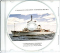 USS Avenger MCM 1 Commissioning Program on CD 1987 Plank Owner