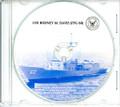 USS Rodney M Davis FFG 60 Commissioning Program on CD 1987 Plank Owner