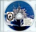 USS Arctic AOE 8 Commissioning Program on CD 1995 Plank Owner