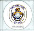 USS O'Bannon DD 987 Commissioning Program on CD 1979