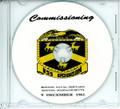 USS Robison DDG 12 Commissioning Program on CD 1961
