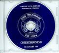 USS Pharris DE 1094 Commissioning Program on CD 1974