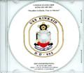 USS Kinkade DD 965  Decommissioning Program on CD 2003