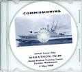 USS Marathon PG 89  Commissioning Program on CD 1968