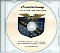 USS McCloy DE 1038  Commissioning Program on CD 1963