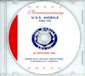 USS Mobile LKA  115 Commissioning Program on CD 1969
