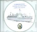 USS Cape Cod  AD 43 Commissioning Program on CD 1982