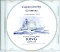 USS King DDG 41 Commissioning Program on CD 1977