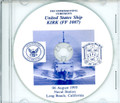 USS Kirk FF 1087 Decommissioning Program on CD 1993