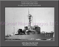 USS Alacrity AG 520 Personalized Ship Canvas Print