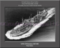 USS Chiwawa AO 68 Personalized Ship Canvas Print #2