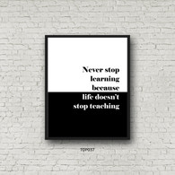 TDP037 Never Stop Learning