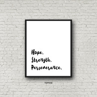 TDP058 Hope. Strength. Perseverence