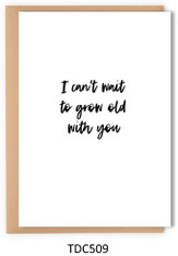 TDC509 - Grow Old with You