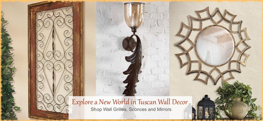 BellaSoleil.com - Tuscan, Mediterranean Style Wall Decor Mirrors | FREE Shipping, No Sales Tax | BellaSoleil.com Tuscan Decor Since 1996