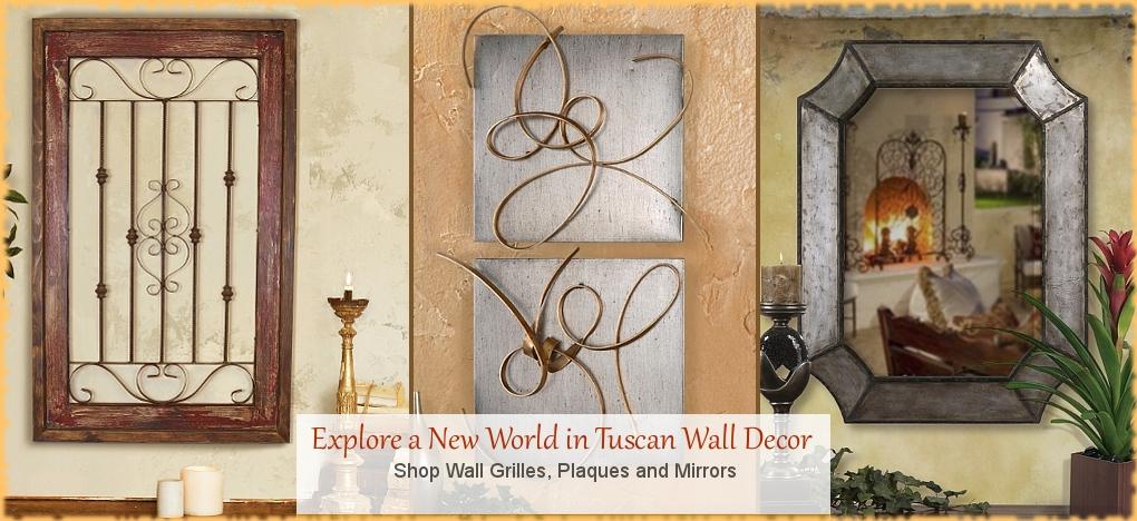 Tuscan, Mediterranean Style Wall Decor, FREE Shipping, No Sales Tax   BellaSoleil.com Tuscan Decor Since 1996