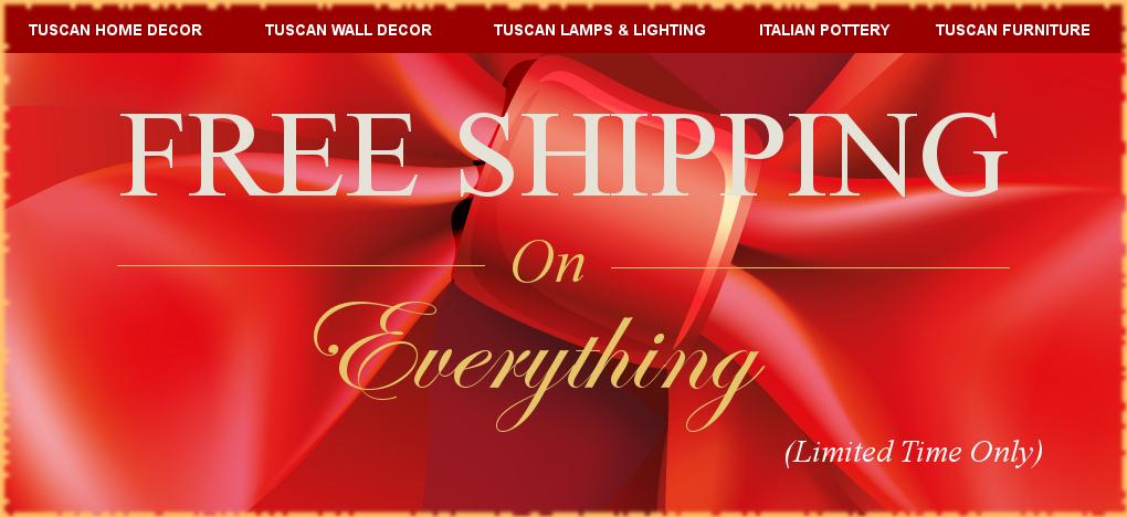 Italian Pottery Tuscan Decor FREE Shipping Sale | No Sales Tax | BellaSoleil Since 1996