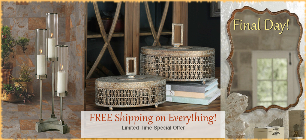 Tuscan Mediterranean Style Home Decor FREE Shipping Sale, No Sales Tax | BellaSoleil.com Tuscan Decor Since 1996