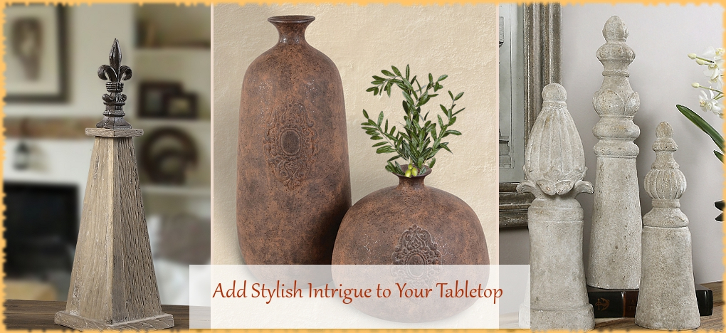 Tuscan, Mediterranean Style Decorative Accents, FREE Shipping, No Sales Tax | BellaSoleil.com Tuscan Decor Since 1996