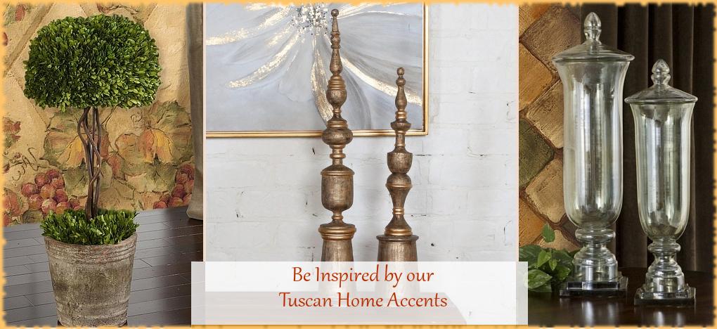 Tuscan Mediterranean Home Decor FREE Shipping | BellaSoleil.com Since 1996