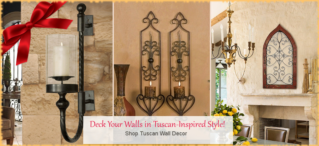 Tuscan, Mediterranean Style Wall Decor Wall Grilles, FREE Shipping, No Sales Tax | BellaSoleil.com Tuscan Decor Since 1996