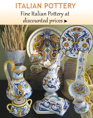 ... Fine Italian Pottery From Tuscany, Deruta, Vietri, Florence, Sicily |  BellaSoleil.