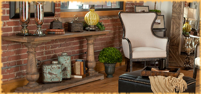 Tuscan style furniture and home decor