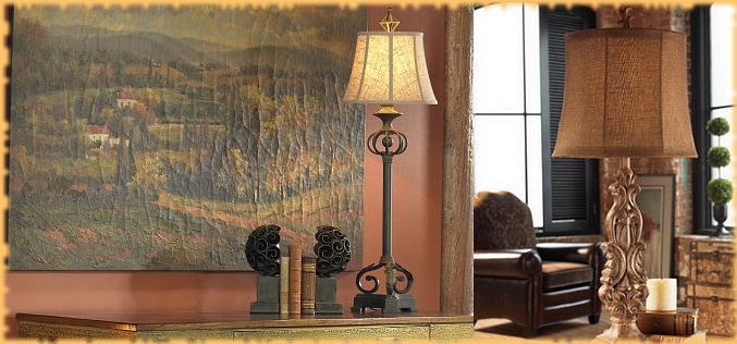 Tuscan Lamps Amp Lighting Bellasoleil Com Tuscan Decor And