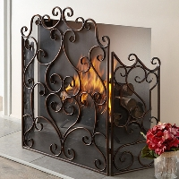 Tuscan Fireplace Accessories