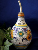 Deruta Raffaellesco Olive Oil Bottle