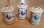 Deruta Gallo Rooster Canister