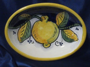 Deruta Lemon Dish