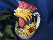 Deruta Sunflower Rooster