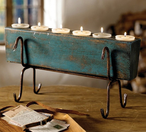 Sugar Mold Candle Holder