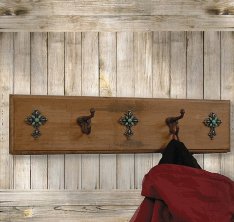 Tuscan Rustic Coat Rack