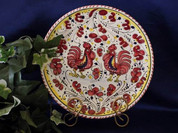 Deruta Orvieto Dinner Plate - Red, Blue or Green