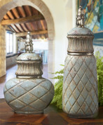 French Tuscan Vase, Tuscan Jars, Tuscan Canisters