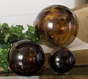 Tuscan Orbs Balls Spheres