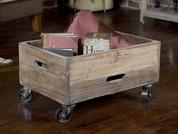Reclaimed Wood Cart