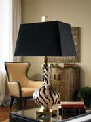 Zebra Print Lamp