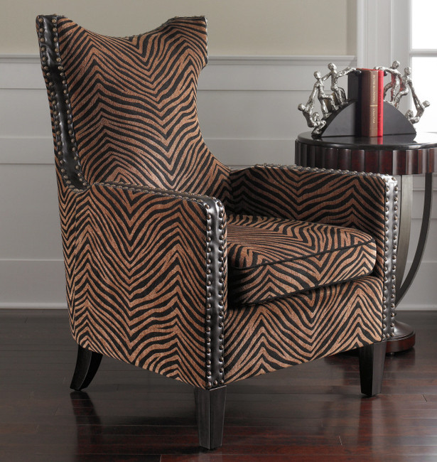 ... Zebra Print Kimoni Armchair; ← Back. Tuscan Chairs. Roll Over Image  Above To Zoom Or Click To View Larger