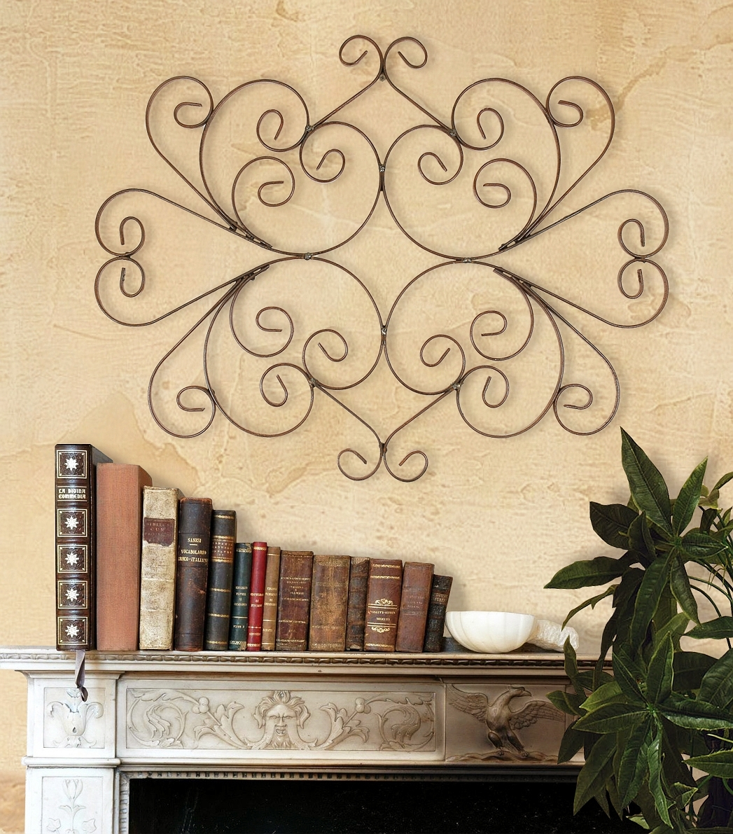 Fancy Metal Wall Grilles In Interior Decoration Illustration - Art ...