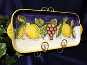 Italian Lemons Serving Platter